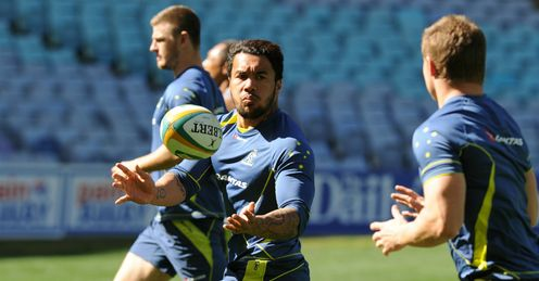 Digby Ioane Australia training in Sydney