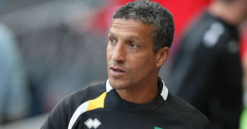 Hughton: Ed reckons his Norwich team can beat Sunderland