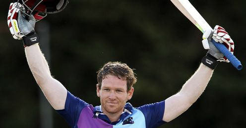 Eoin Morgan Middlesex v Worcestershire Clydesdale Bank 40 Uxbridge