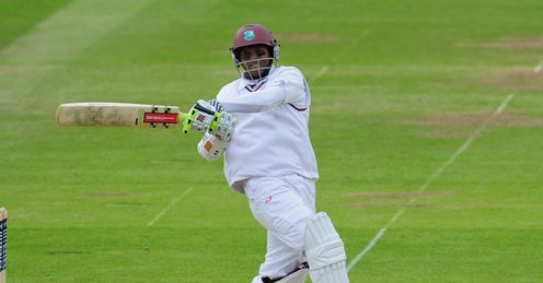 Shivnarine Chanderpaul West Indies v England 1st Test day 1 Lords