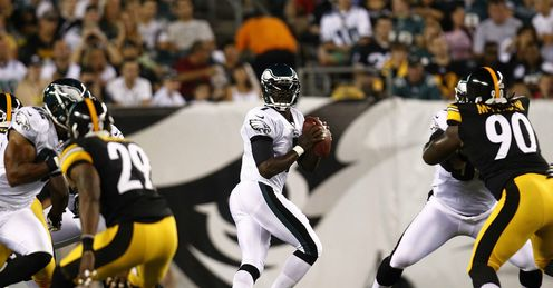Michael Vick: Needs to protect the football to win in Pittsburgh