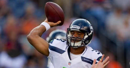 Russell Wilson: Facing a fearsome Bears defence in Chicago