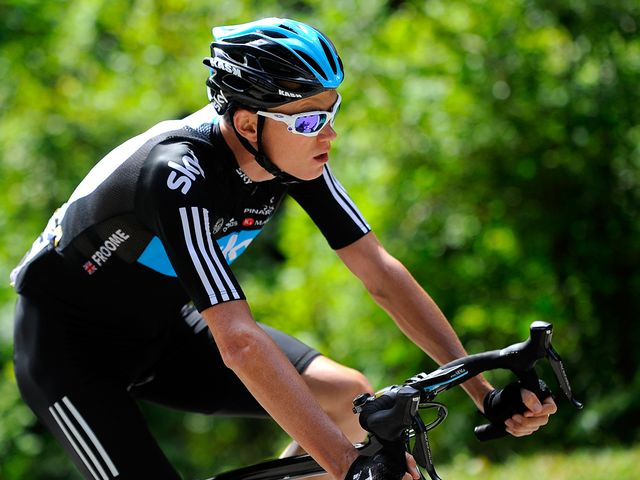 Froome: Shone on first mountains test
