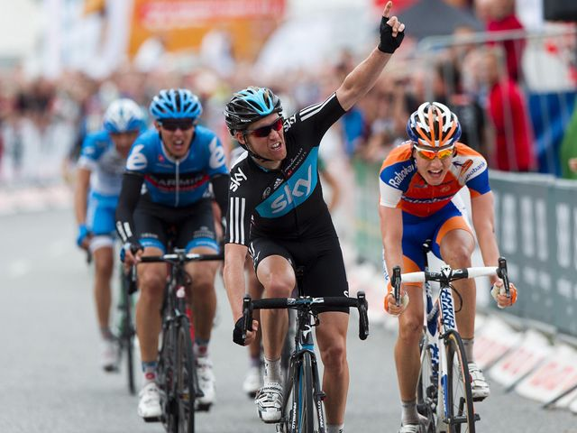 Nordhaug: Won stage and took leader's jersey