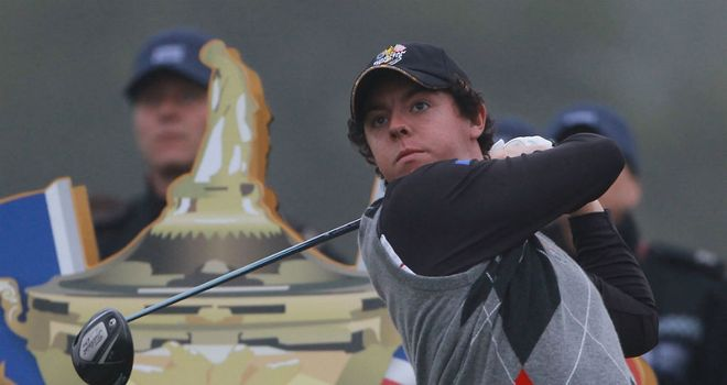 Rory McIlroy: Will be playing in his second Ryder Cup.