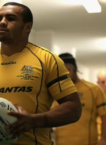 Will Genia Australia Rugby Championship 2012