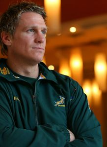 Jean de Villiers South Africa Rugby Championship 2012