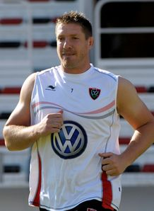 Bakkies Botha Toulon training white kit