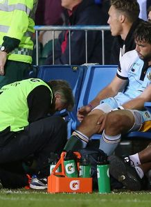 Ben Foden Injured Bath