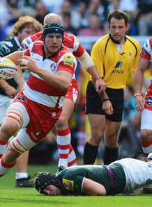 Ben Morgan Gloucester London Irish 2012