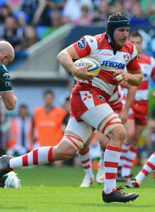 Ben Morgan London Irish v Gloucester Aviva Premiership 2012