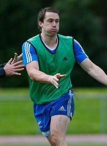 Ben Smith All Blacks training 2012
