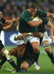 Dean Greyling having a run for Springboks