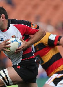 George Whitelock of Canterbury ITM Cup v Waikato