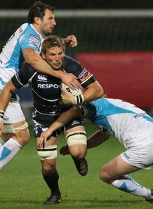 Glasgow Warriors John Barclay v Ospreys 2011