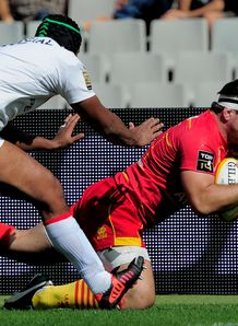 Guirado Guilhem try Perpignan v Toulouse