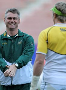 Heyneke Meyer SA coach RC 2012