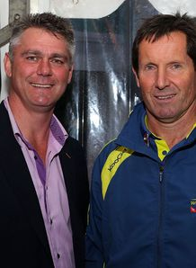 Heyneke Meyer and Robbie Deans RC 2012