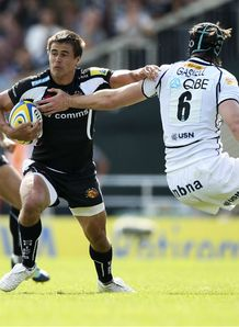 Ignaci Mieres Exeter v Sale