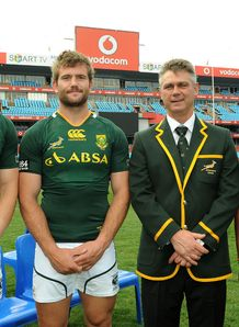 Jaco Taute Heyneke Meyer team photo