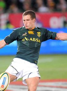 Johan Goosen kicking SA