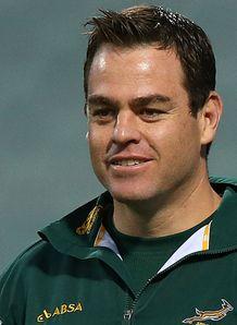 Johann van Graan Souh Africa pack coach 2012