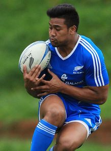 Julian Savea NZ All Blacks training RC 2012