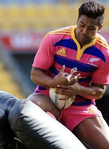 Julian Savea NZ traing RC 2012