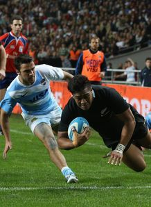 Julian Savea try new zealand v Argentina 2012 BA