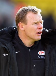 Saracens director of rugby Mark McCall pleased with battling spirit after win over Gloucester