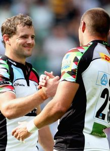 Nick Evans Ross Chisholm harlequins
