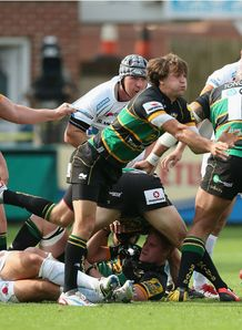 Lee Dickson Northampton Saints v Exeter Chiefs