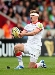 Owen Farrell lining one up for Saracens