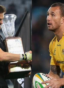 Richie McCaw split with Quade Cooper