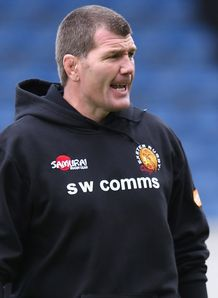 Exeter head coach Rob Baxter takes the positives from heavy Heineken Cup defeat