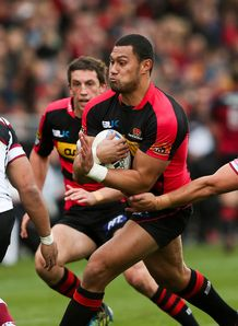 Robbie Fruean Canterbury v North Harbour ITM Cup 2012