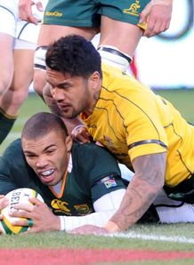 Rugby Championship South Africa v Australia Bryan Habana