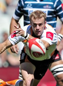 Sarel Pretorius passing for Free State Cheetahs