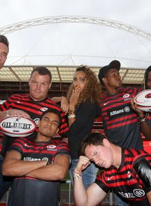 Sarries v Tigers Wembley comp