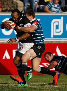 Sharks wing Odwa Ndungane brought down