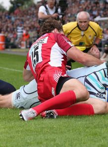 Thomas Waldrom Leicester v London Welsh 2012 AVP