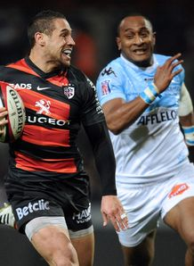 Toulouse Luke McAlister L v Bayonne Joe Rokocoko R