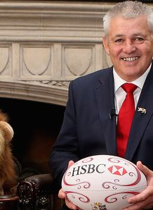 Warren Gatland lion