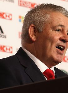 Warren Gatland new Lions coach 2012