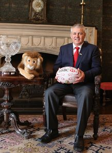 Warren Gatland new Lions coach