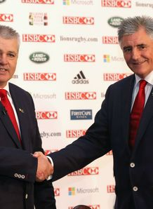 Warren Gatland Andy Irvine British and Irish Lions announcement