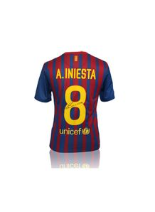 Iniesta Signed Shirt