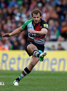 Harlequins director of rugby Conor O'Shea allays fears over injury to Nick Evans