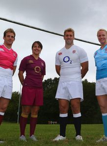 Chris Robshaw England Rugby Union kits