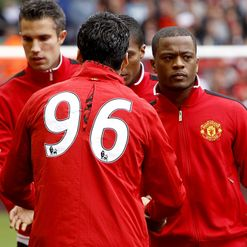 Suarez &amp; Evra: A line drawn